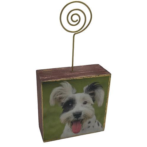 Happy Dog Photo Block