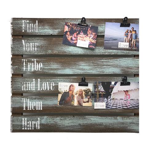 Tribe Wood Slat Photo Clip