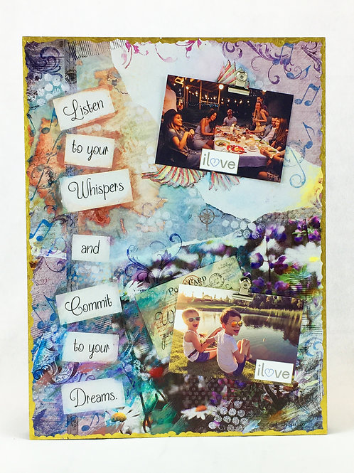Whisper & Dream Photo Clip Board