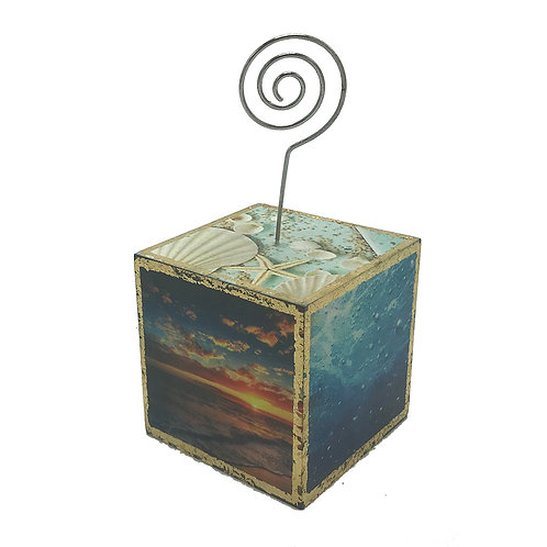 Large Ocean 3 Photo Cube