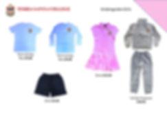 Terra Santa kindergarten uniform leaflet