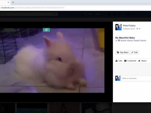 Πως να αποθηκεύσετε στον υπολογιστή σας ένα βίντεο από το facebook με ένα απλό τρικ!