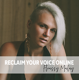 Fleassy Malay- Reclaim your Voice Online