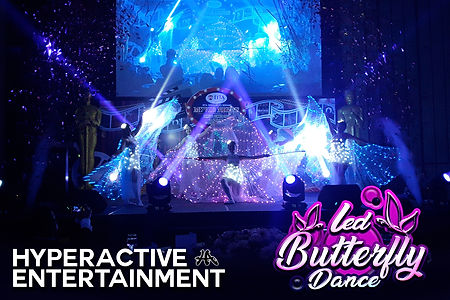 led butterfly dance malaysia