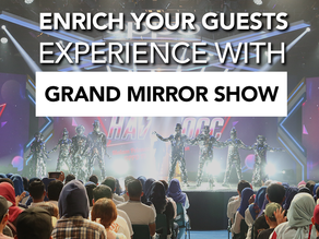 High Energy Modern Grand Mirror Show | Highlight your Event