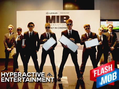 Flashmob MIB International Movie Premiere LEXUS Movie Day