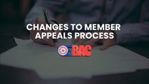 Changes to Member Appeals Process