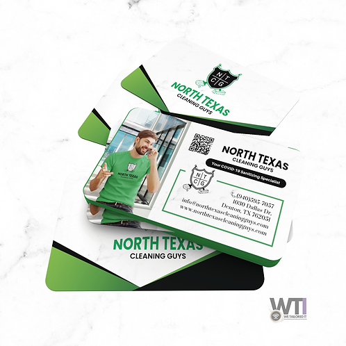 DOUBLE-SIDED BUSINESS CARD DESIGN