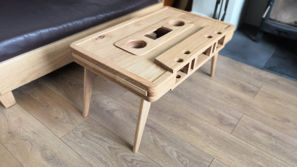 tape cassette coffee table