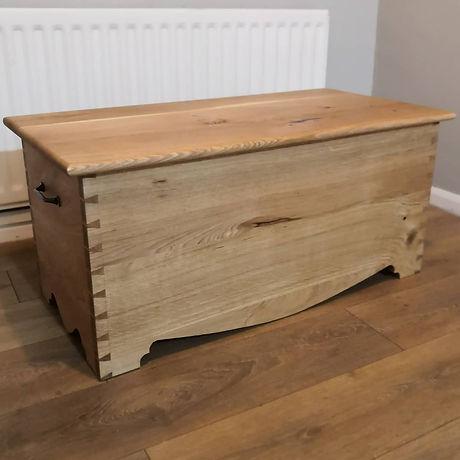 Handmade dovetailed chest