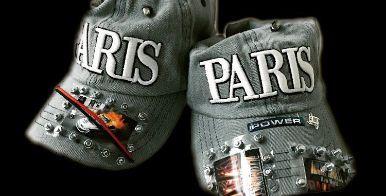 Paris custom cap