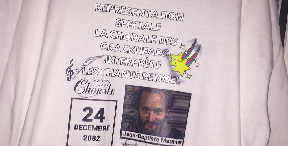 Crackhead choral