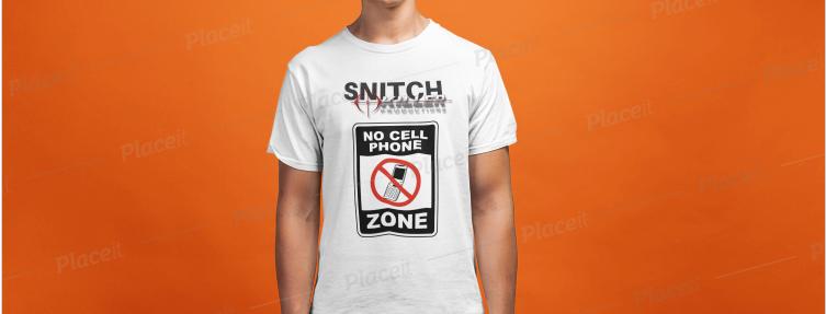 Snitch.KILLER.tshirt