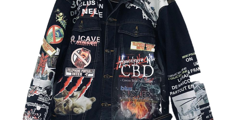 Multi exp denim jacket