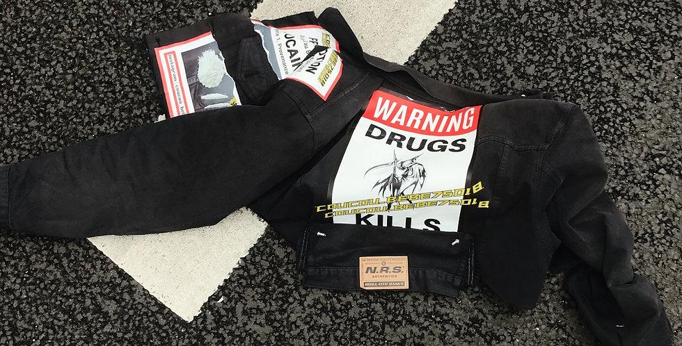 Warning drugs kills