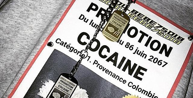 Promo Cocaine Hoodie