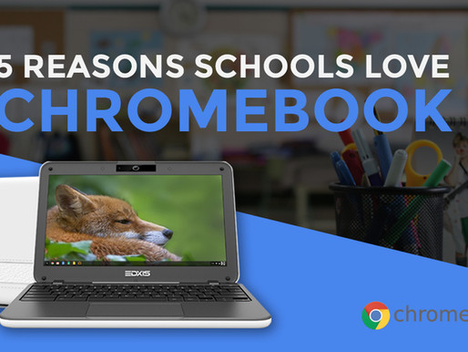 5 Reasons Why Schools Love Chromebook
