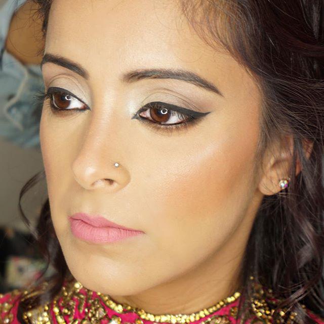 Beautiful flawless glowing skin on Rubal
