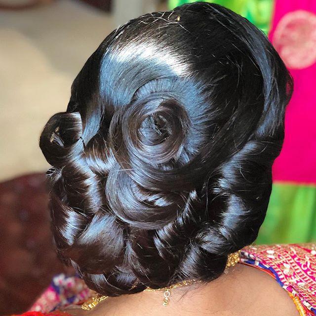 Hair is an art. I just love how this hai