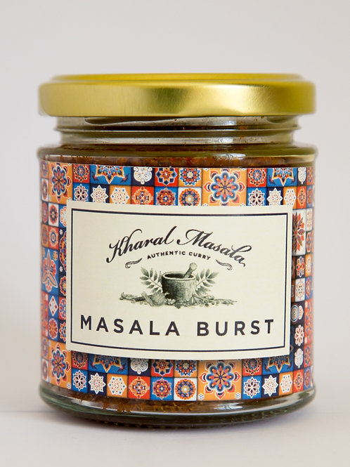 Masala Burst 190g,  enough for 6 large meals for a family of four