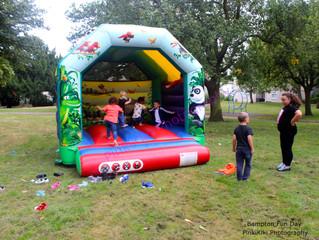 Bampton Estate Fun Day - Having a Whale of a Time!