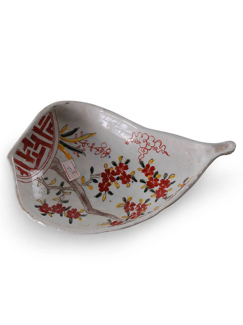 Chinese Floral Dish