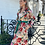 Thumbnail: Faux Suede Floral Coat with Belt
