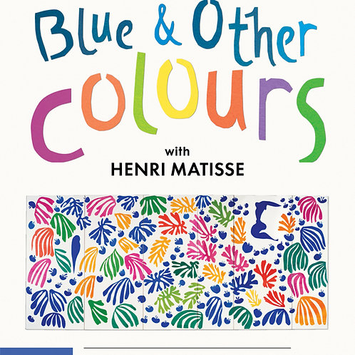 Childrens Book: Blue and Other Colors