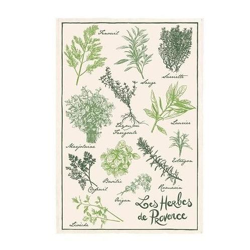 French Tea Towel - Herbs de Provence