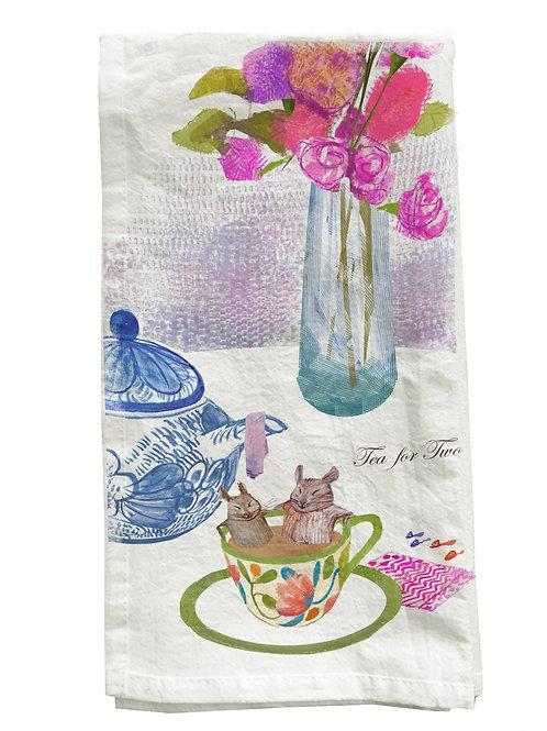 Tea for Two Tea Towel