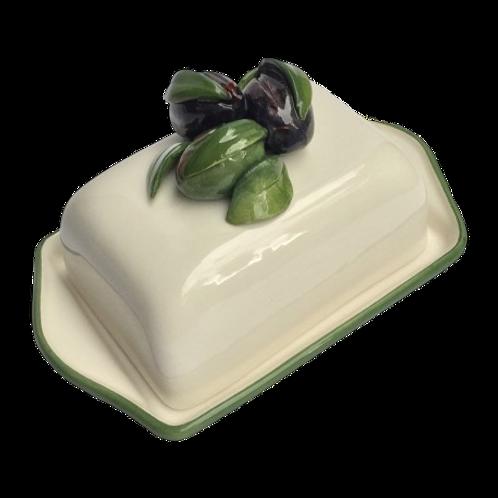 Au Bain Marie Paris Olive Butter Dish