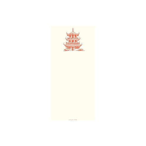 Alexa Pulitzer Long Pad - Pink Pagoda