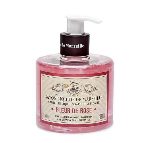 La Maison Savon du Marseille Rose Hand Soap