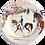 Thumbnail: GIEN Cavaliers Dessert Plate