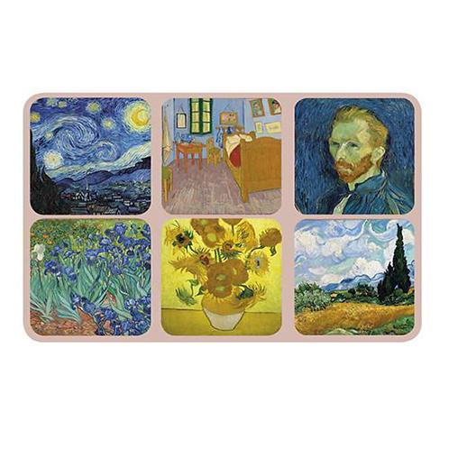 Van Gogh Coasters S/6