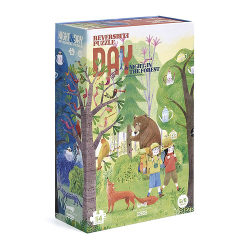 54 pc. Reversible Day/Night Puzzle