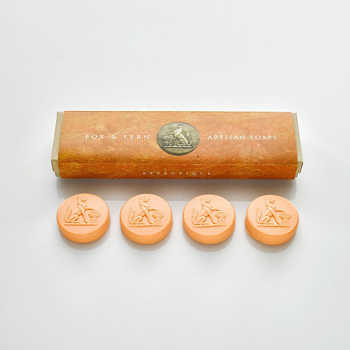 Fox & Fern Intaglio Soaps - Blood Orange