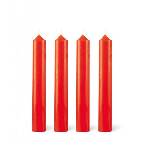 """Classic 8"""" Table Candle - Nasturtium"""
