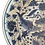 "Thumbnail: 12"" Blue and White Porcelain Fish Plate"