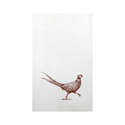 Pheasant Strut Paper Guest Napkins 20 pk.