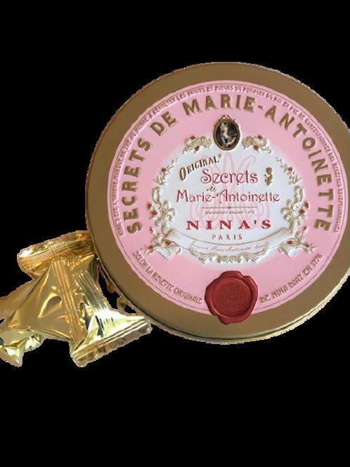 Nina's Paris Marie Antoinette Chocolate Truffles - 12 pcs