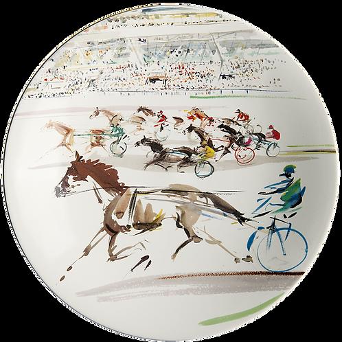 GIEN Cavaliers Cake Platter