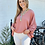 Thumbnail: Washable Silk Austin Top - Dusty Pink - Size Small