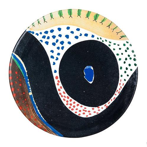 "13"" Ceramic Serving Platter"