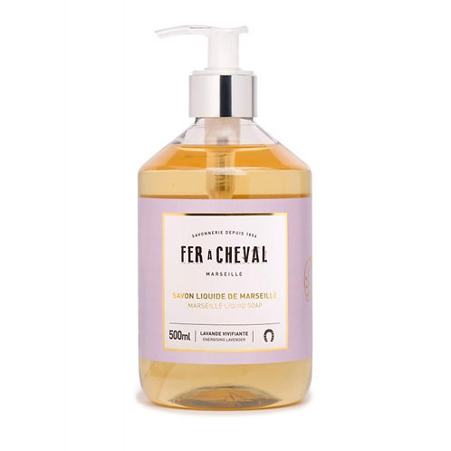 Fer à Cheval Liquid Soap - Energizing Lavender 500ml