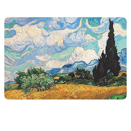 Set of 4 Placemats - Van Gogh Wheat Field