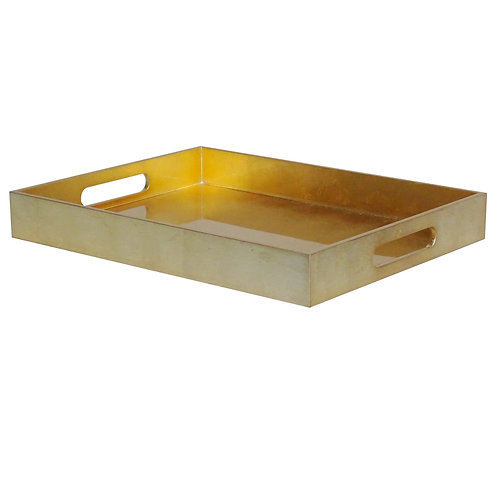 Large Gold Lacquer Tray