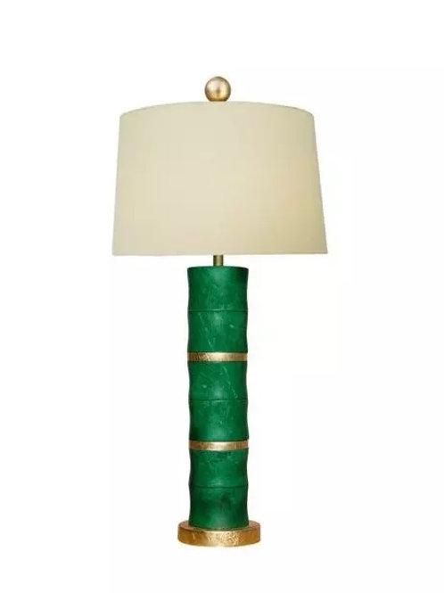 "30"" Green Jade Lamp"
