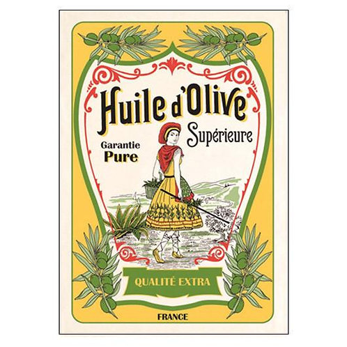 French Tea Towel - Huile d'Olive