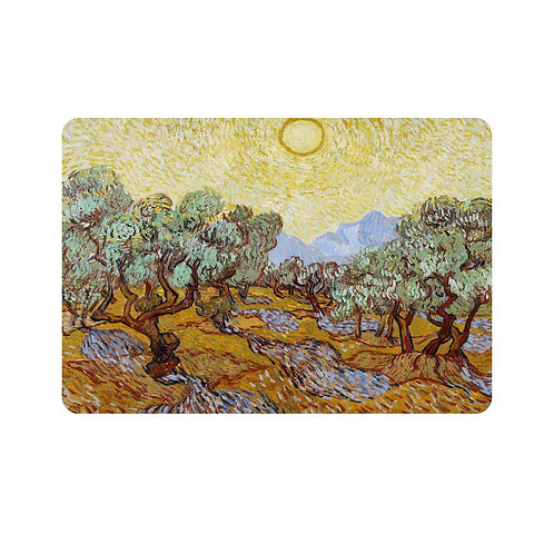 Set of 4 Placemats - Van Gogh Olive Trees